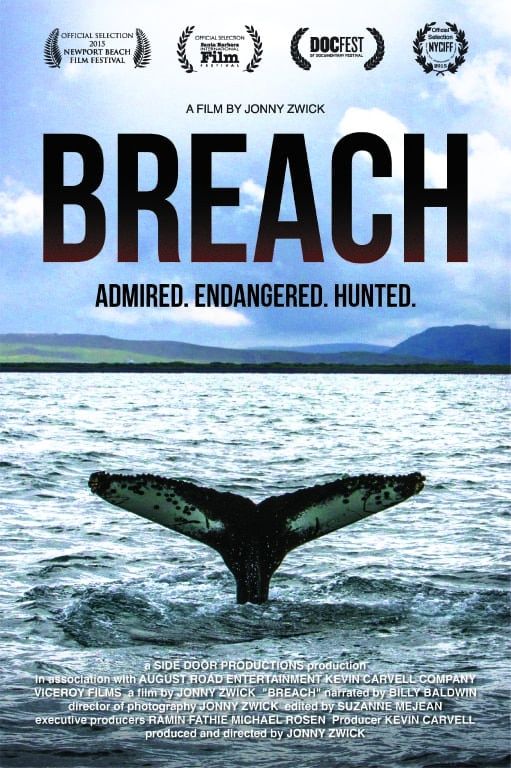 Breach: London screening a great success - Whale & Dolphin