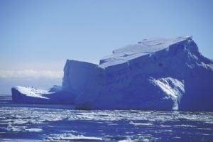 Polar-Schutz auf Eis gelegt