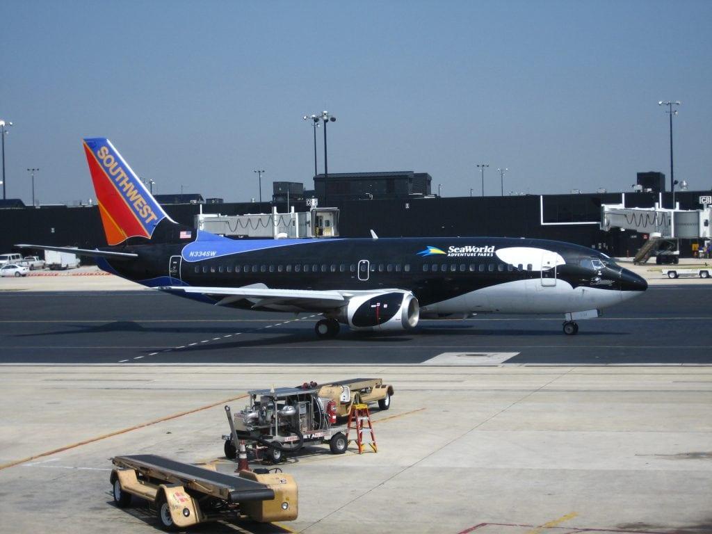 Southwest Airlines beendet jahrelange Zusammenarbeit mit SeaWorld