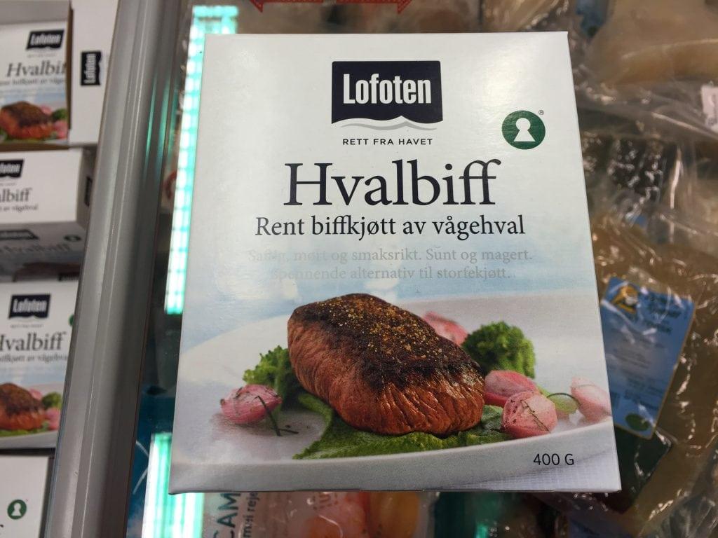 Walfleisch Norwegen
