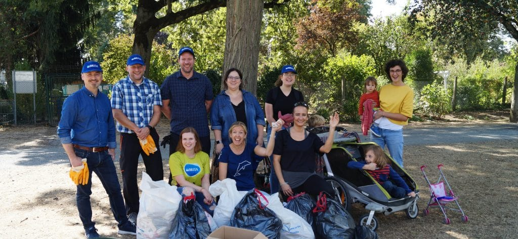 Urban Clean-Up mit BRITA in Frankfurt