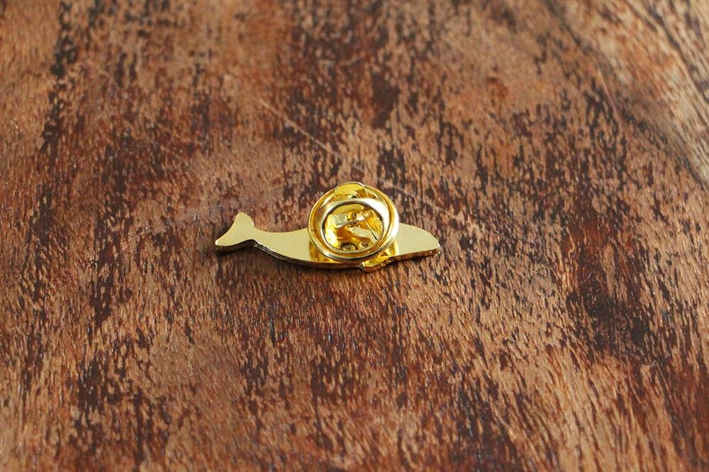 Schweinswal Pin Verschluss