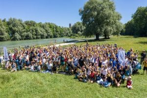 WDC beim Polarstern Isar Clean-Up