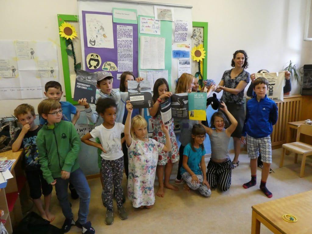 Hort in München sammelt Spenden für WDC