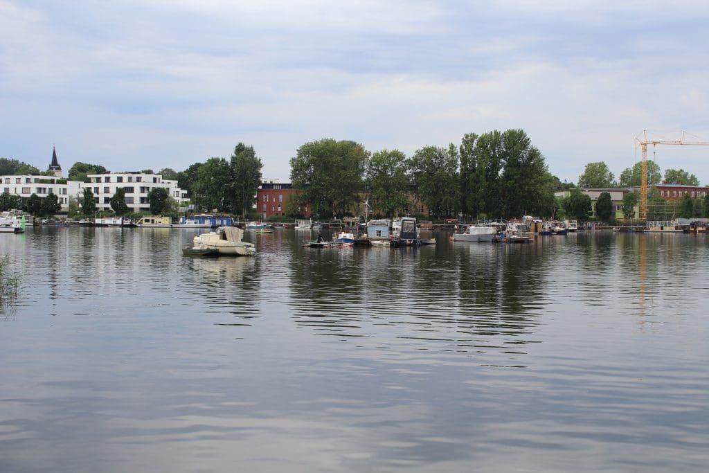 Blick auf den Rummelsburger See. (C) WDC
