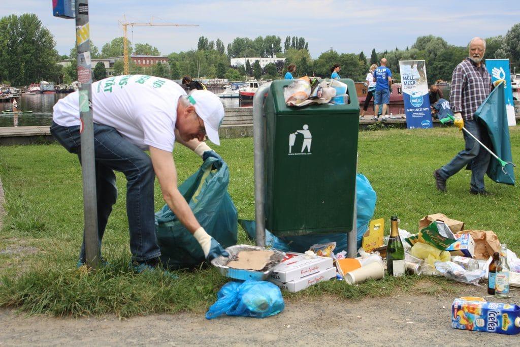 Clean-Up mit besonderem Flair