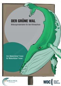 Cover Bildungsunterlagen-Grüner Wal