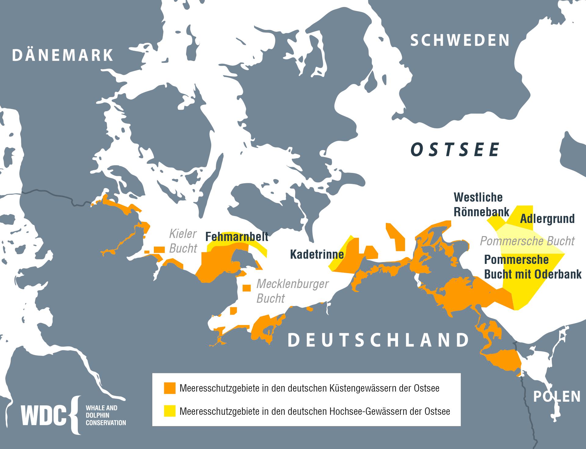 Meeresschutzgebiete der deutschen Ostsee