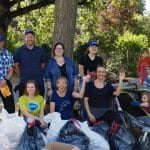 Urban Clean-Up mit BRITA in Frankfurt